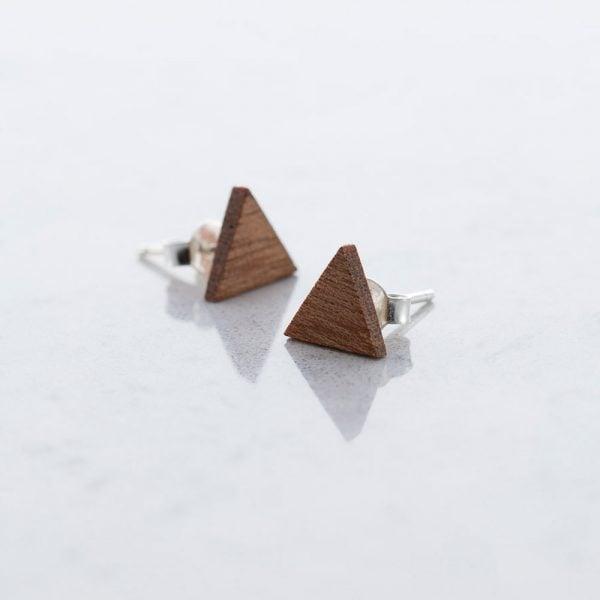 DEBOSC Botón triángulo de sapeli