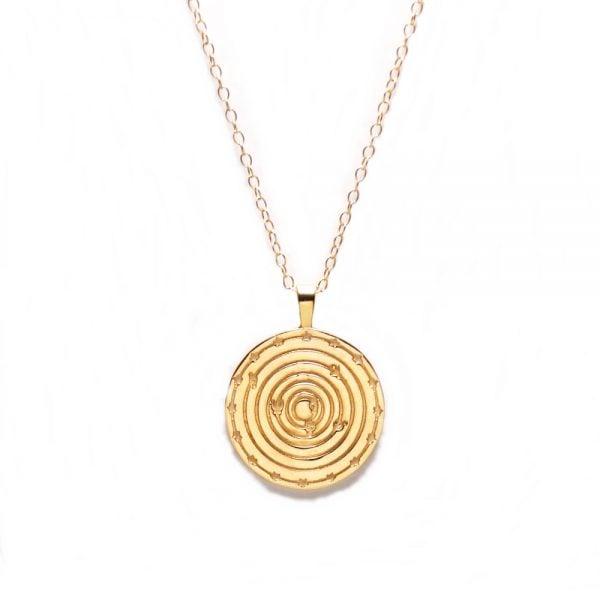 La Cabellera de Berenice Medallón Sistema Solar