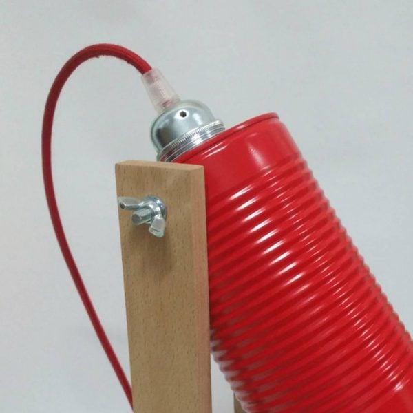 eunadesign lampara CW02 rojo2
