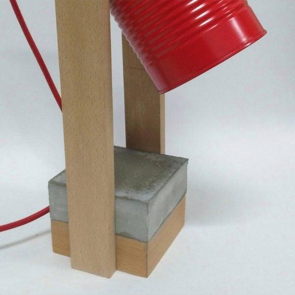 eunadesign lampara CW02 rojo3