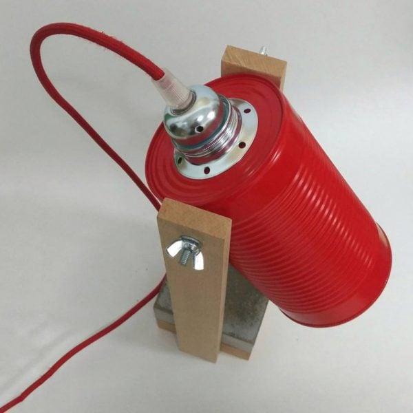 eunadesign lampara CW02 rojo4