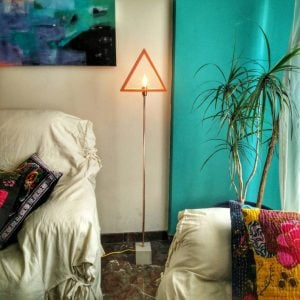 Eunadesigns lampara pie geométrica6