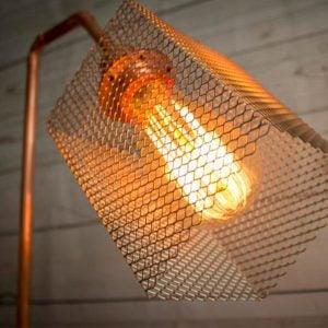 eunadesigns Lamp CC01 jaula acero