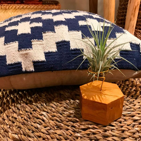 Boreen hexagonal madera