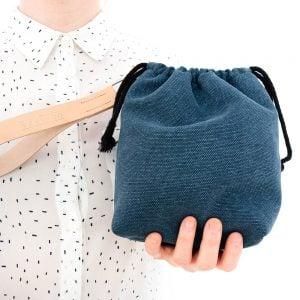 Versado Bags limosnera azul3