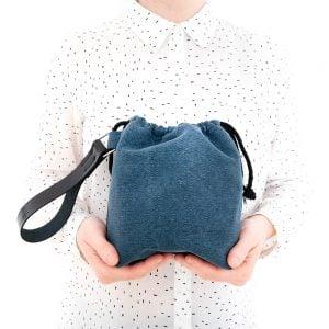 Versado Bags limosnera azul4
