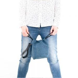 Versado Bags limosnera azul5