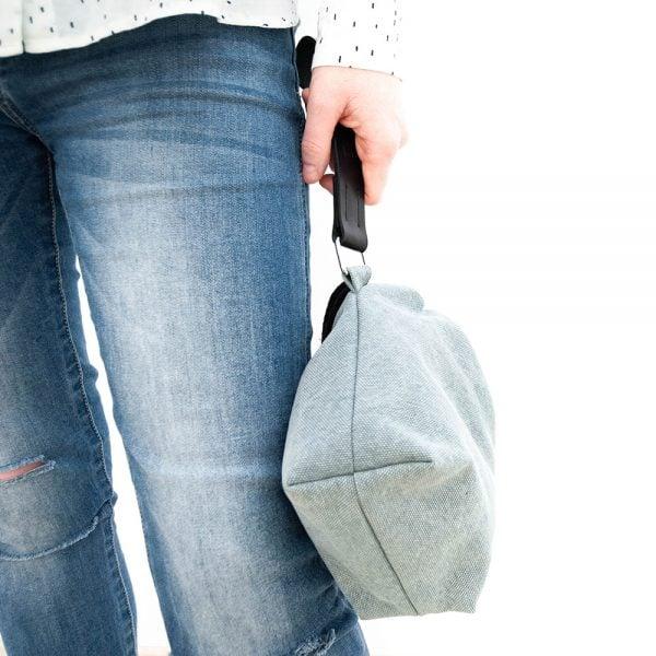 Versado Bags limosnera gris1