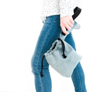 Versado Bags limosnera gris2