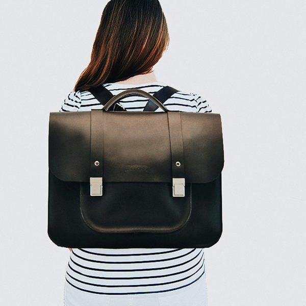 Versado Bags mochila black lisa3