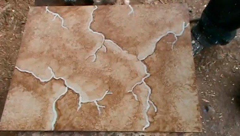 Cómo hacer imitación de mármol en madera 1