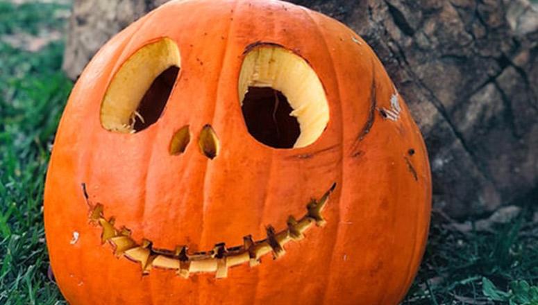 Cómo hacer calabaza de Halloween1