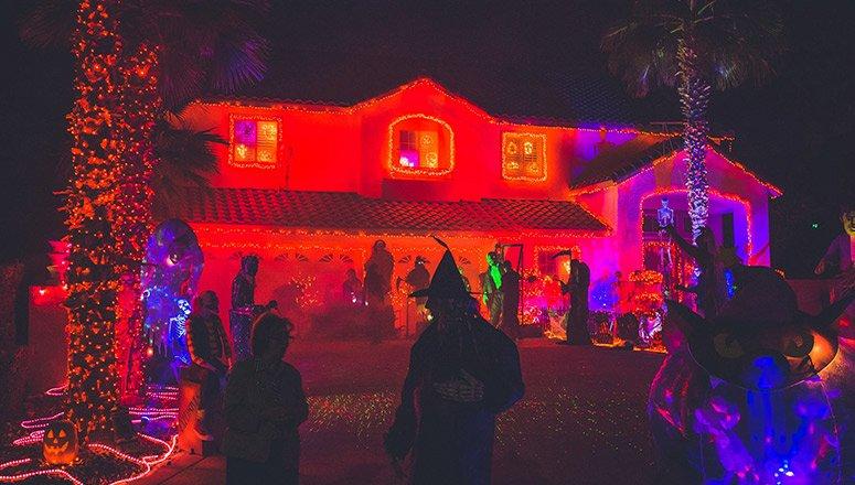 cómo hacer decoración de Halloween1