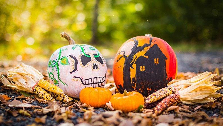 cómo hacer decoración de Halloween2