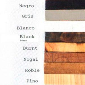 Fullmoon gama de colores madera