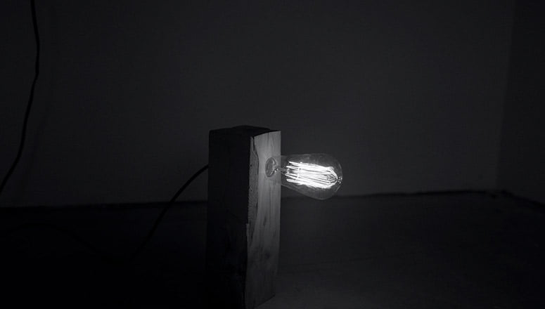 Lámpara de cemento 2
